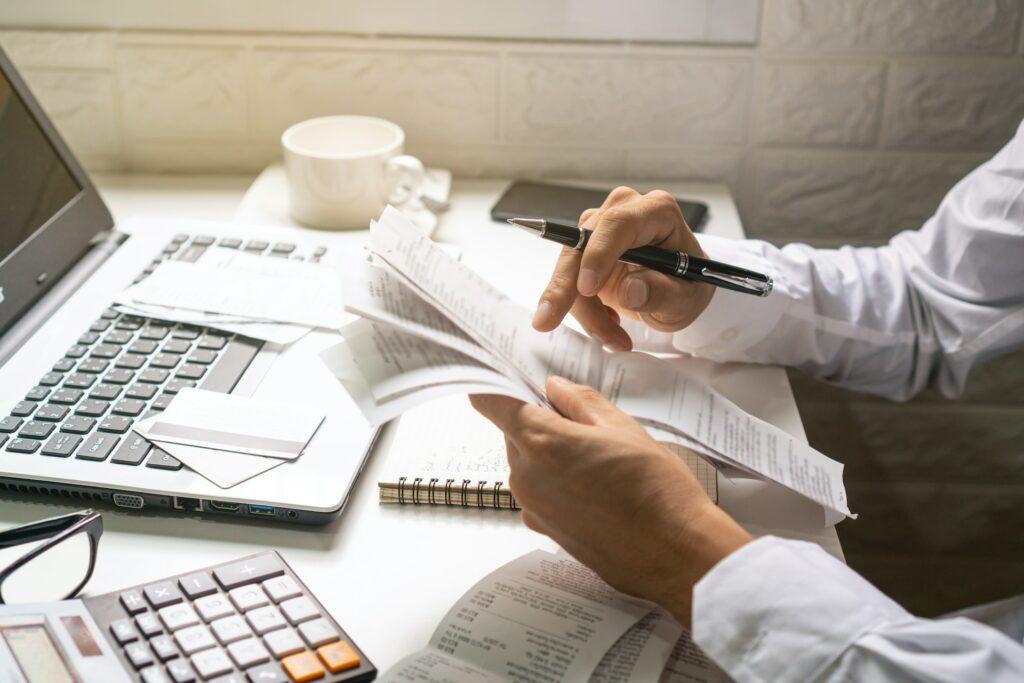 Ecosped, Vedení účetnictví, daně, poradenství